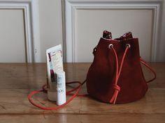 DIY : le sac seau en cuir de « La Mallette des Minettes »