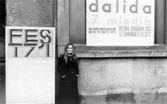Dalida à Belgrade en Yougoslavie, où elle a tenu un concert pour son anniversaire 17.01.1971.