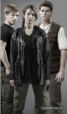 Gale, Peeta and Katniss