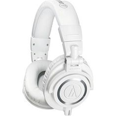 Audio-Technica ATH-M50x Headphones (white) $99  free shipping http://www.lavahotdeals.com/us/cheap/audio-technica-ath-m50x-headphones-white-99-free/46278