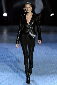 $3890 Ultra RARE Alexander Wang Black Crocodile Leather Jacket