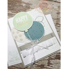 Stampin by the Sea, it's birthday time!