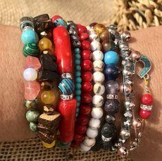 870DBA9D-63A7-4CDE-8544-6B414B01B05F Healing Stones, Arts And Crafts, Beaded Bracelets, Beads, Handmade, Beautiful, Jewelry, Beading, Hand Made