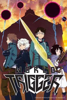 Crunchyroll - World Trigger Full episodes streaming online for free, One day, a gate to another world opened in Mikado City. Invaders from another dimension, referred to thereafter as Neighbors, overran the area around the gate, leaving the city gripped by fear. However, a mysterious group suddenly appeared and repelled the Neighbors. This Border Defense Agency independently researches Neighbor technology and fights to protect this world.