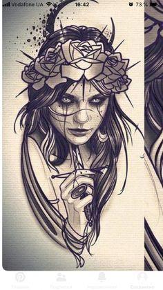 Next Post Previous Post Next Post Previous Post Tattoos 3d, Body Art Tattoos, Girl Tattoos, Tattoo Sketches, Tattoo Drawings, Drawing Sketches, Dark Art Tattoo, Tatoo Art, Dark Art Drawings