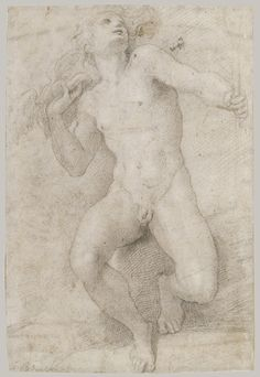 Parmigianino (Girolamo Francesco Maria Mazzola): Seated Figure of Mercury (1997.154) | Heilbrunn Timeline of Art History | The Metropolitan Museum of Art