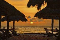 Palapa Sunset