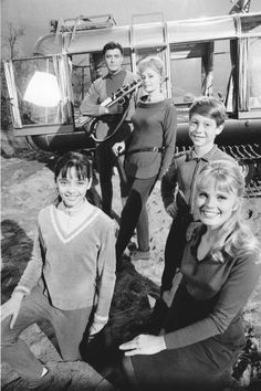 Space Family Robinson - Lost in Space, on an EVA.