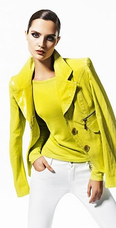 Casual Chic, Fall Style,Chartreuse