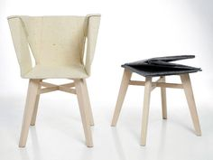 Chair D by Kako.Ko - an origami inspired chair