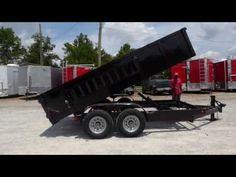 Dump Trailer 7'x14' Hydraulic W/ 2.5' Sides 7000 lbs Axles - http://sleequipment.com/news/dump-trailer-7x14-hydraulic-w-2-5-sides-7000-lbs-axles/