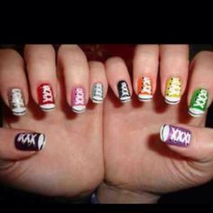 What girl doesn't love #shoes and #nails?