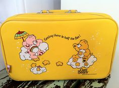 Care Bears Suitcase! I totally have this