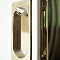 Pocket Door Hardware   Polished Nickel   Brandino Brass Co.