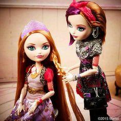Holly and Poppy
