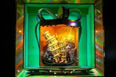 Bloomingdale's Holiday 2013 – Shoppers Travel the World in Bloomingdale's Holiday Windows - Holly Jolly Windows - Racked NY