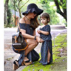 Moda Tal Mãe Tal Filha | Mamãe Plugada