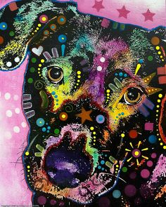 Mixed Media Painting by Dean Russo