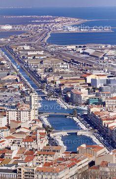Photos Sète : canaux et Méditerranée Sète