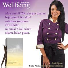 Mau tampil lebih slim ala Farah Quinn (Brand Ambassador Nutrishake Indonesia)???