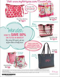 March 2014 Special www.mythirtyone.com/CousinCake