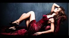 stock photo : elegant sensual young woman in red dress on recamier indoor shot Female Girl, Girl Model, Elegant Woman, Crossdressers, Royalty Free Images, Fashion Models, Photo Editing, Sexy Women, Stock Photos