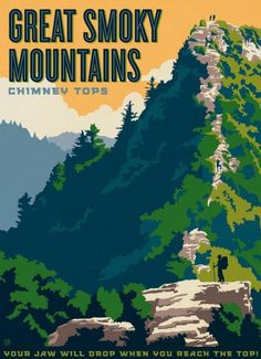 Great Smoky Mountains National Park ~ Anderson Design Group #SmokyMountains #NationalParks #NorthCarolina