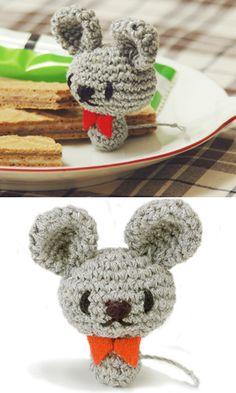 Amigurumi Little Mouse ( Free Japanese Chart) Pdf version