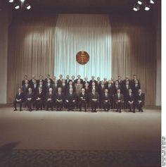 Allein unter Männern:  Margot Honecker im Kreise ihrer ausschließlich...