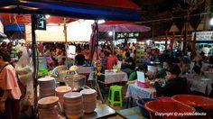 Saturday Night Market and Wat Si Supan in Chiang Mai - Travel Video Blog