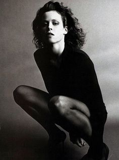 Sigorney Weaver... beautiful, smart and tough. I have had a thing for this girl since I saw her in Ghostbusters, all those years ago. BABE!!!!!!!