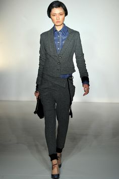 fall 2012 ready-to-wear, Vivienne Westwood Red Label. style.com