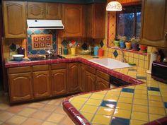Authentic Mexican Kitchen Design | KITCHEN TALAVERA TILE « All for Kitchen