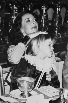 with Courtney,, I hope she is ok?? Actress Natalie Wood with daughter, Courtney