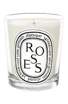 Rose will forever be my favorite scent... With grapefruit at a close second.  Diptyque 'Roses' Candle #valentinesday