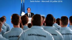 FRANCE ANNOUNCES FORMATION OF NATIONAL GUARD AS STATE OF EMERGENCY CONTINUES Militarization turning France into autocratic police state