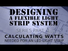 How To Calculate Watts With LED Light Strips - YouTube & Calculate LED Lumen or Watt needed for your room type and size ... azcodes.com