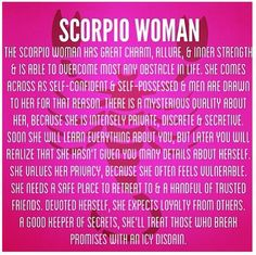 Scorpio Woman Quotes. QuotesGram