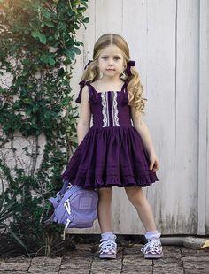 Kids Fashion For 10 Year Olds Dresses Kids Girl, Kids Outfits, Flower Girl Dresses, Children Dress, Toddler Dress, Baby Dress, Little Girl Fashion, Kids Fashion, Fall Fashion