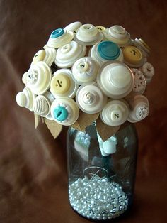 Button Bouquet!