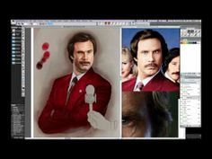 Painter for Illustrators with Painter Master Mike Thompson - YouTube