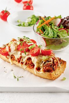Pizza Legume, Mets, Bruschetta, Vegetable Pizza, Sandwiches, Vegetables, Ethnic Recipes, Food, Bacon