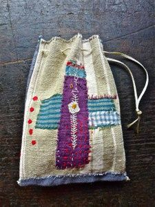 Арт-текстиль: круги и травы - Притворяйтесь, пока не начнет получаться