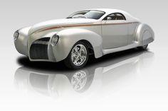 Lincoln Zephyr 1939, motor GM Vortec V8 5.3L, transmissão automática 4L60E 4 marchas....está para venda na RK Motors, Charlotte,NC.