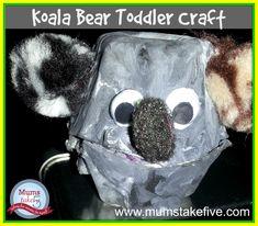 AustraliaDay Craft  Egg Carton Koala Kids Craft http://www.mumstakefive.com/index.php/craft-learn-play/crafts/300-koala-kids-easy-egg-carton-craft