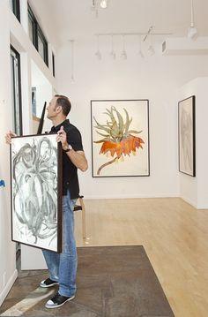 TSG Sarah Graham recent drawings at Galerie Maximillian: Aspen, CO