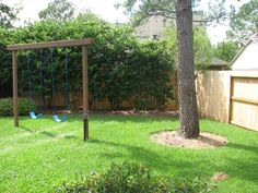 Backyard Playground Ideas | Playground Site Plans for Wooden Swing Sets