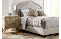Harken back to old Hollywood with plush upholstered beds, mirrored chests, and more bedroom furniture. Crystal-adorned chandeliers add eye-catching style, and tufted sofas offer a luxe place to lay out the next day's clothes in more spacious suites.http://www.wayfair.com/daily-sales/Hollywood-Chic-Master-Suite~E12950.html?refid=SBP.rBAZEVQF9VltuGVmi76hAh_Ix7y13UlkorMX_4LAMkI