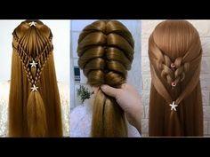 20 Peinados Fáciles Bonitos y Rapidos con Trenzas para cabello/ Peinado niñas/ Peinados de moda - YouTube