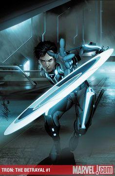 ✭ Tron: The Betrayal #1 by Salvador Larocca